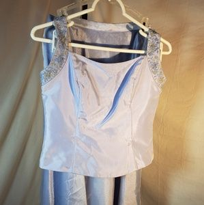 David's Bridal Prom Dress